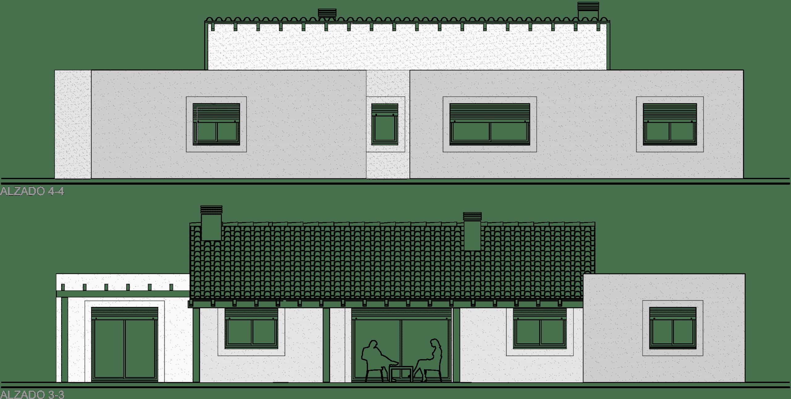 proyecto de casa modulo hormigon celular Ytong 99