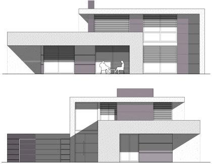 Casa modular Sitges en Hormigon Celular Fachadas