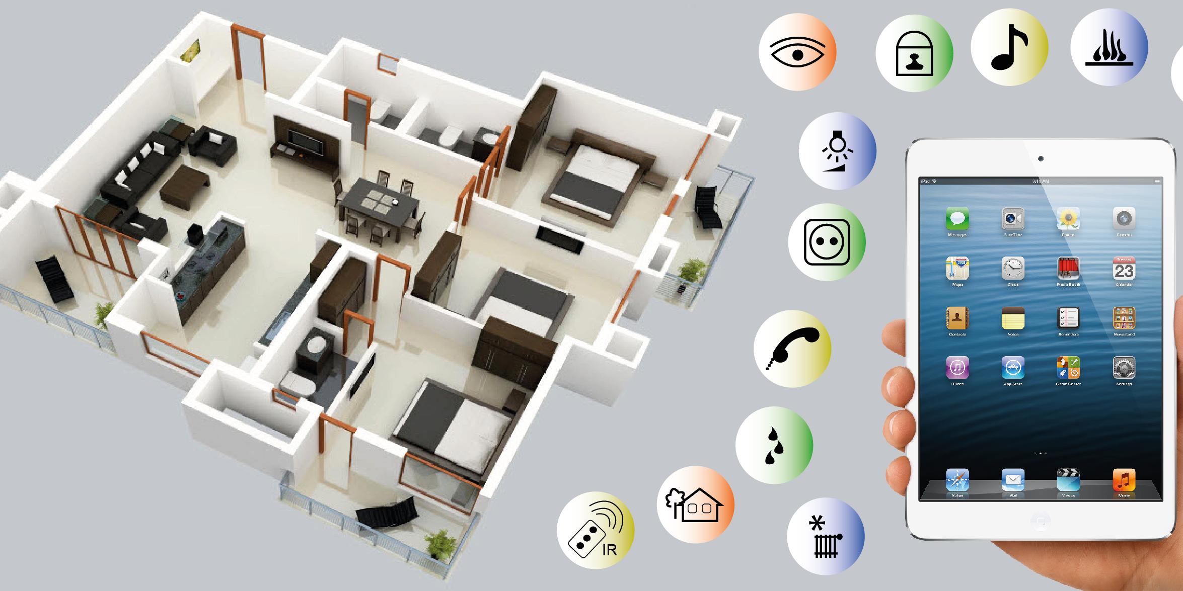 Dom tica el presente del futuro construimos tu casa - Domotica en casa ...
