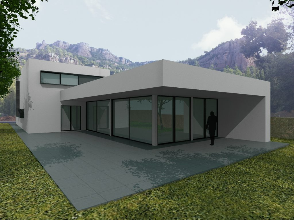 Casa de hormigón Celular Terrassa