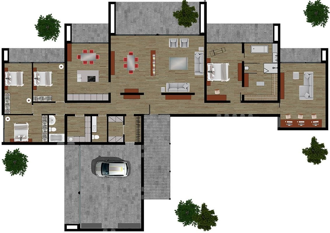 Casa unifamiliar Bigues desarrollada en Ytong