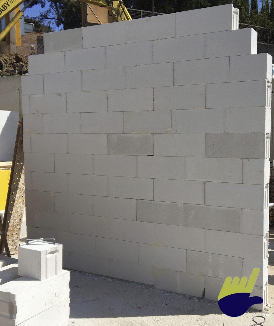 Casa hormigon celular muro de bloque ytong construimos tu - Muro de bloque de hormigon ...