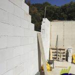 Casa hormigón celular muros construcción