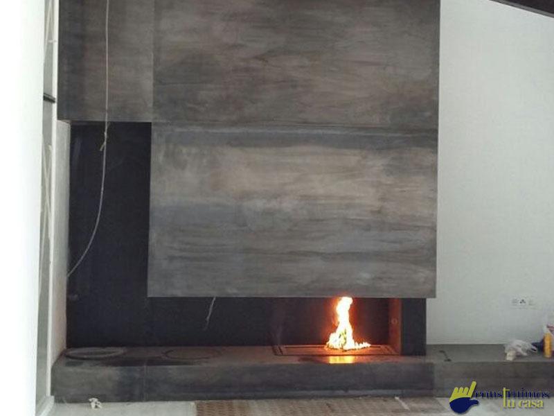 Acabados a medida, un fuego dentro de tu casa con diseño exclusivo