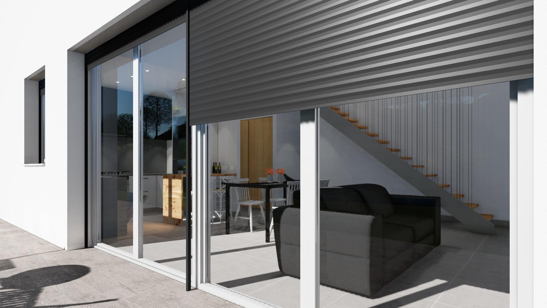 Vivienda modular modelo Torreblanca - render 1