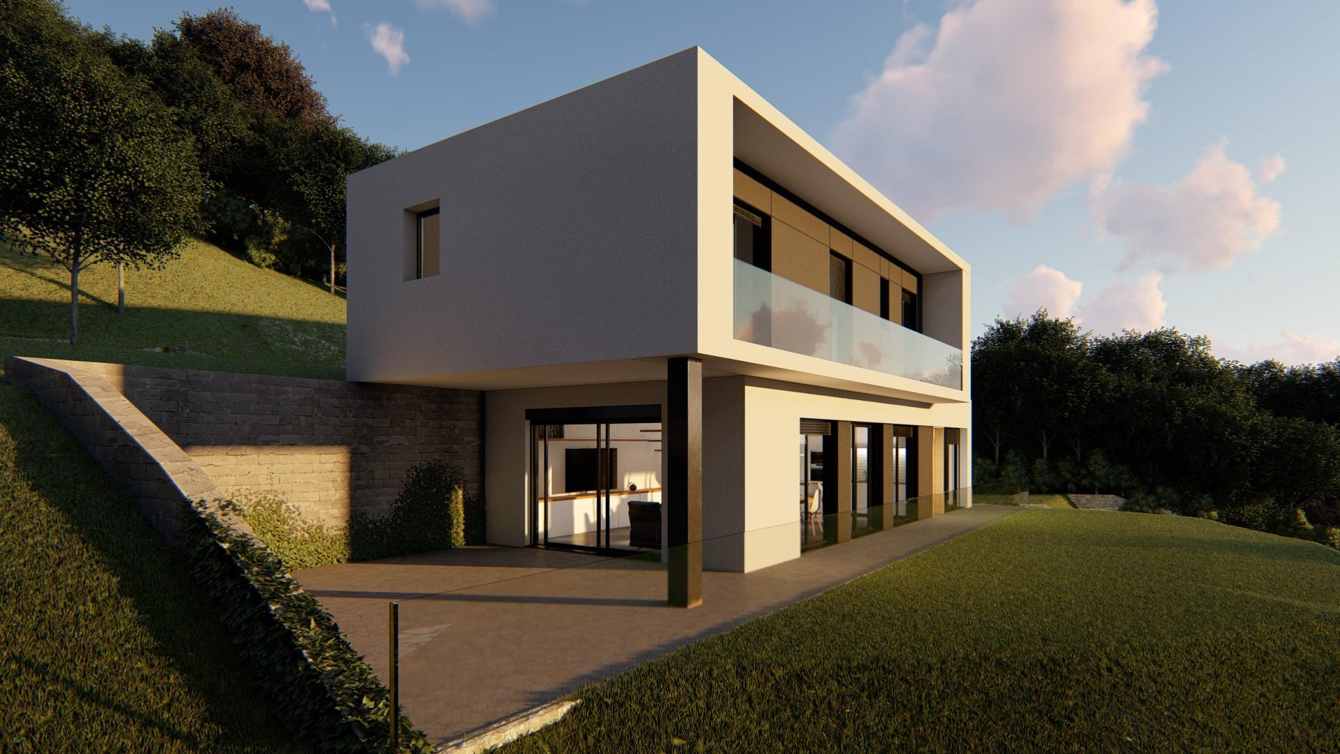Casa prefabricada modelo pedritxes Exterior fachada