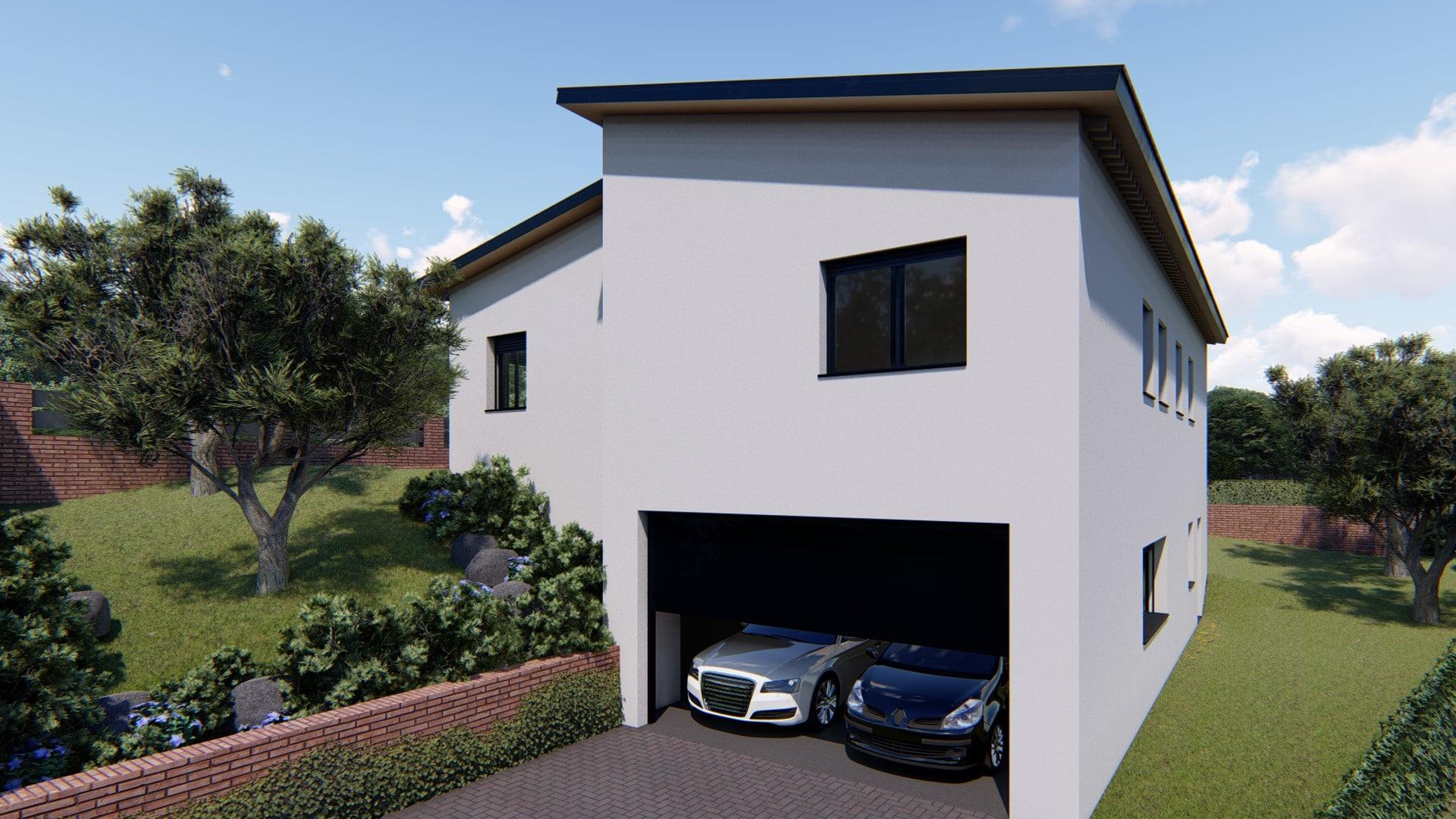 Casa Prefabricada modelo terrassa