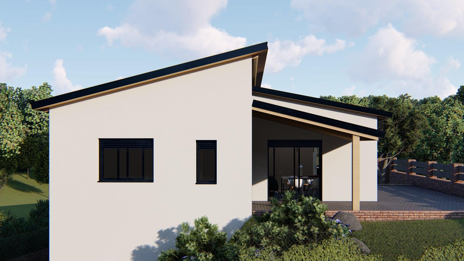 Casa Prefabricada modelo terrassa 2
