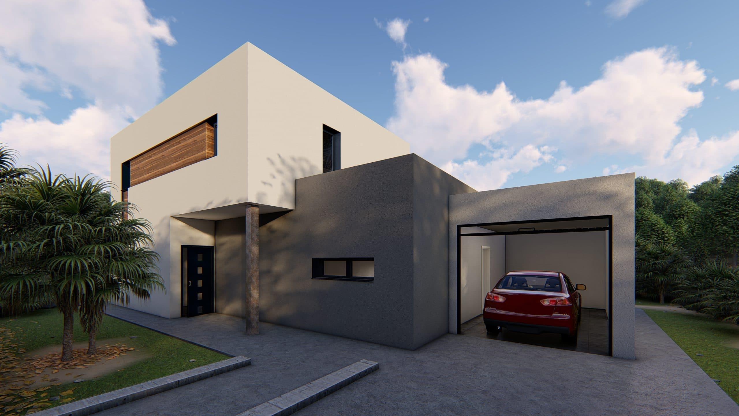Casa prefabricada modelo Sant Cugat - exterior