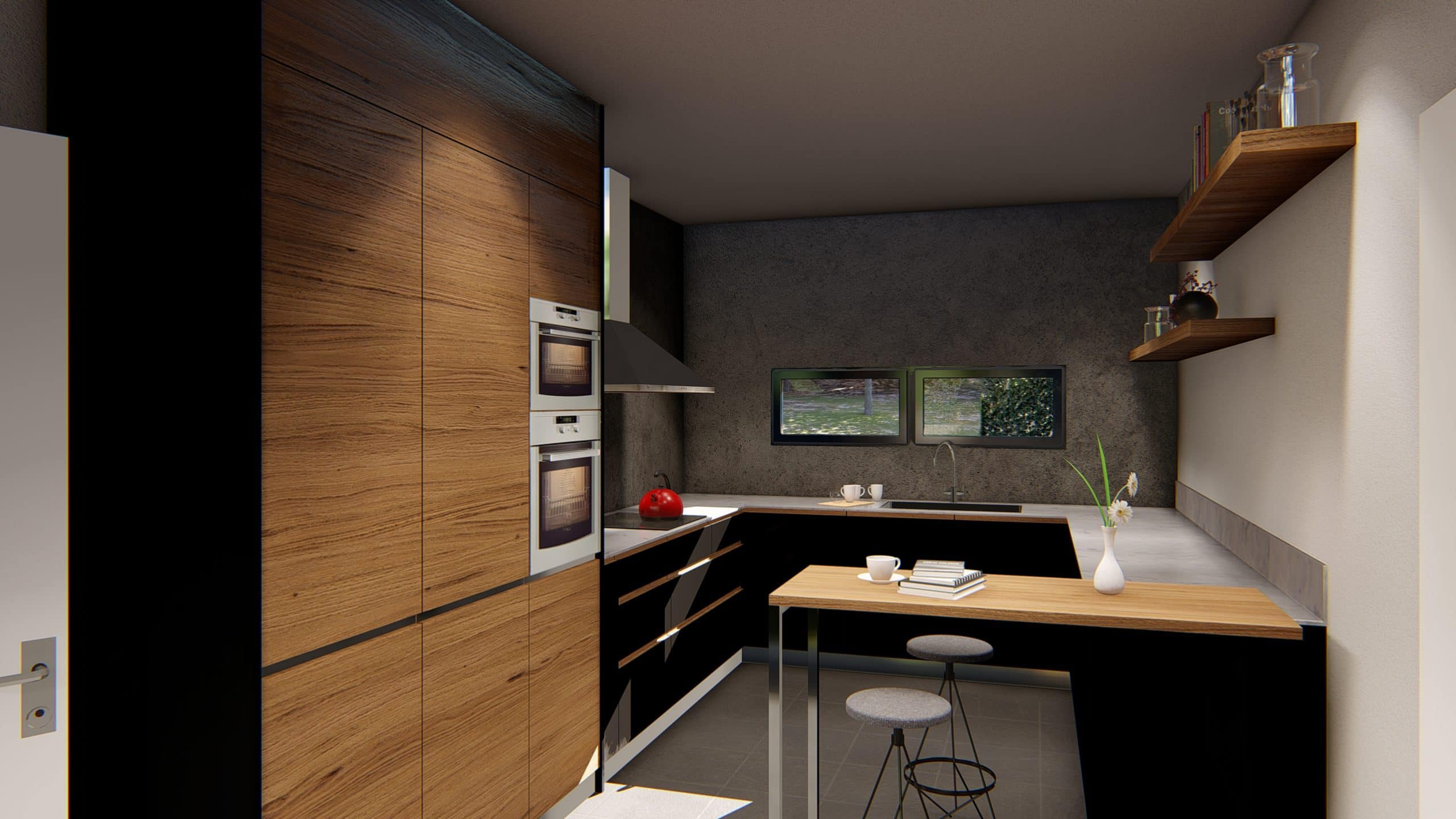 Casa prefabricada modelo Sant Cugat - interior