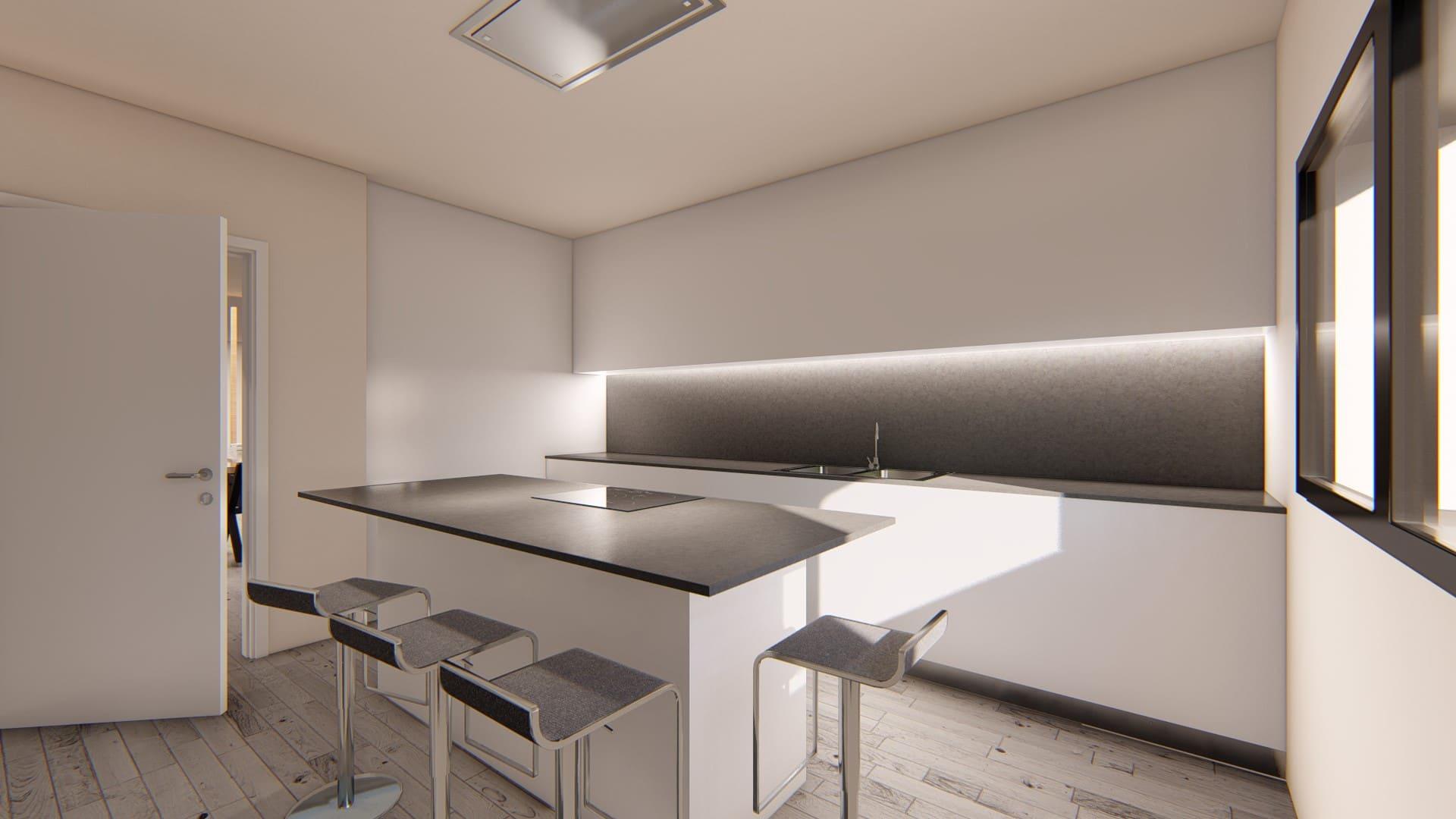 Casa Prefabricada modelo Hospitalet 2